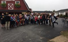 Art Club goes to Jackson's Orchard
