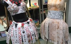 Greenwood Artists Make Dresses Out of Unconventional Items
