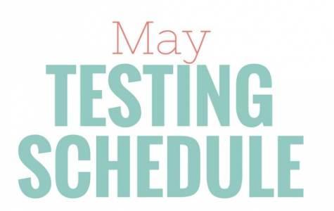 May Testing Schedule