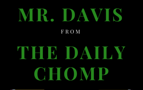 Thank You, Mr. Davis
