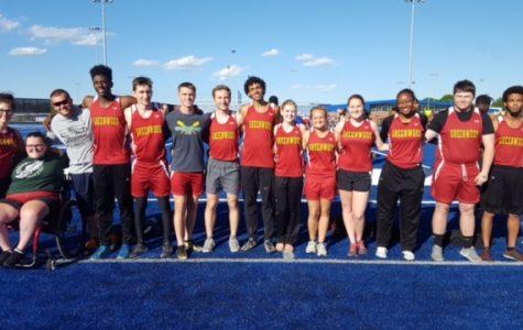 Track and Field Seniors Recognized on Senior Night