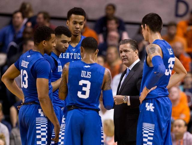 Kentucky Basketball Isn T Going Undefeated Or Winning The: Kentucky's Road To Glory?