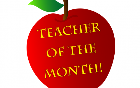 Mr. Hazard Named Teacher of the Month