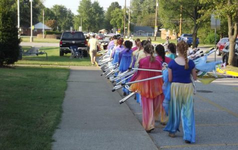 Greenwood Band Competition and Practice Photos