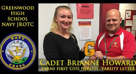 Greenwood ROTC Awards First Varsity Letter