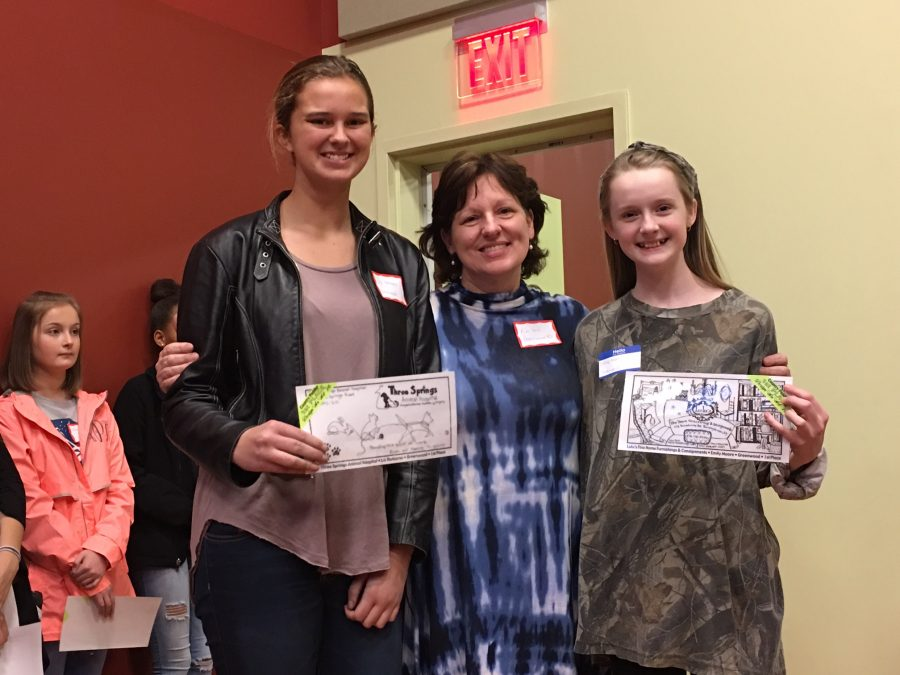Greenwood Students Win Big in the Country Peddler Design an Ad Contest
