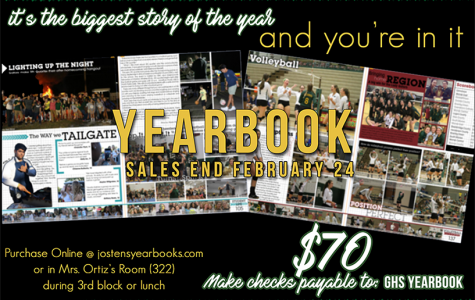 Yearbook Pre-Sales are Coming to an End