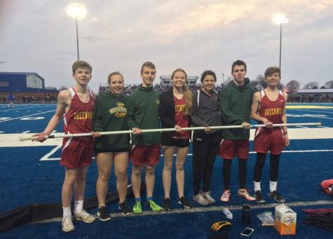 Track and Field Seniors Recognized on Senior Night