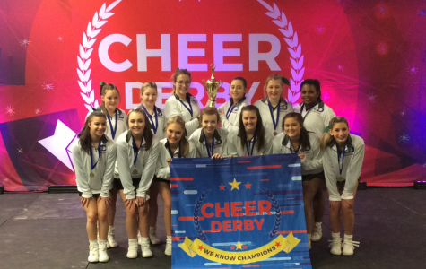 Greenwood Cheerleaders Win First Place at Cheer Competition
