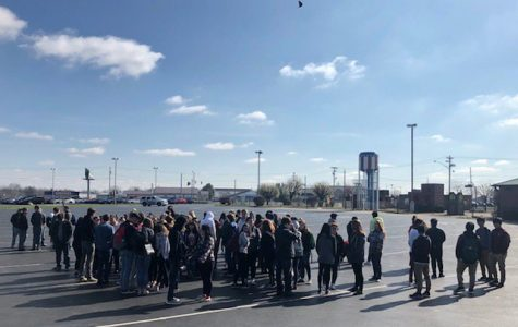 Students Walk Out in Protest