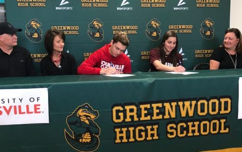 Greenwood Athletes Commit to Swim in College