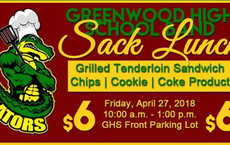 Greenwood Band has Lunch Fundraiser