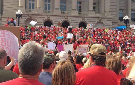 Teachers Rally in Frankfort