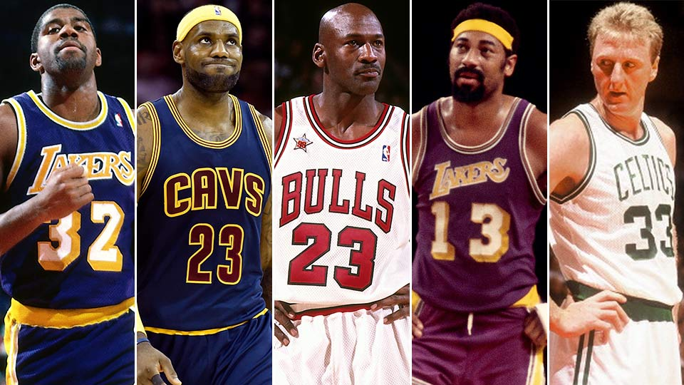 ff45ea8673c2 Ranking the 25 Best NBA Players of all time – The Daily Chomp