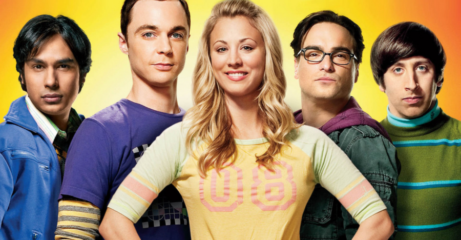 'The Big Bang Theory' cast in the shows earlier seasons.