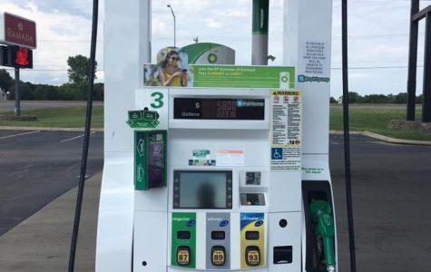 Greenwood Benefits from Spirit Gas Pump