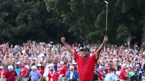 Tiger Woods Wins for the First Time In Five Years