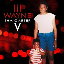 The album cover for 'Tha Carter V'.