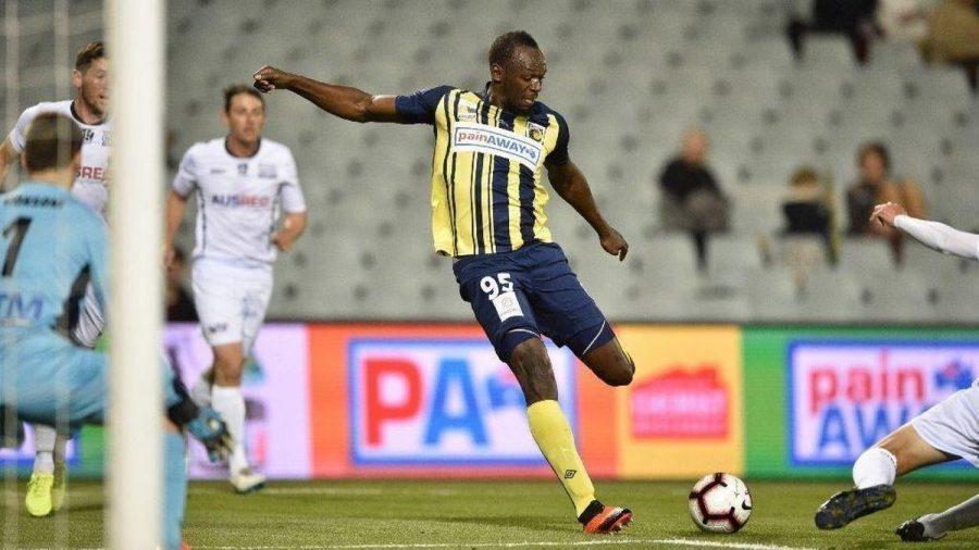 Usain Bolt Scores Two Goals