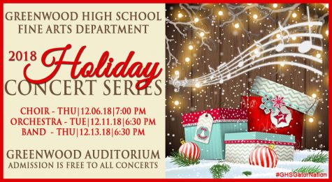 Greenwood High School Presents Holiday Concerts