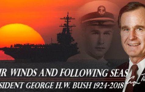 George H.W. Bush Will Be Laid To Rest