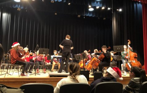 Greenwood Strings orchestra Christmas Concert