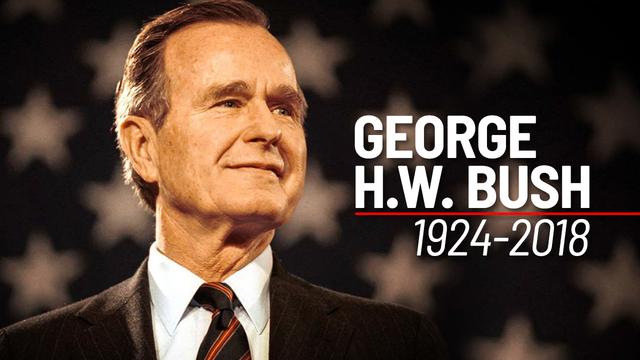 George+H.W.+Bush+Dies+at+94
