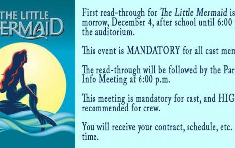 The Little Mermaid Cast Read