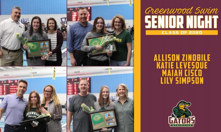 Swim+Team+Celebrates+Seniors