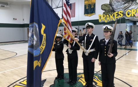 Greenwood NJROTC Recruits Middle Schoolers