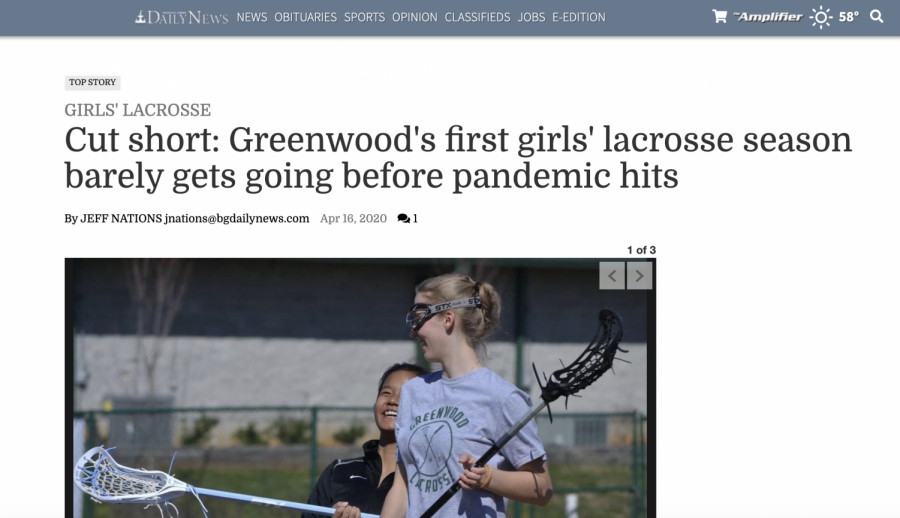 Gator+Lacrosse+Featured+in+Daily+News